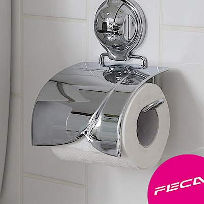 FECA非卡 伯爵捲筒式衛生紙架-銀