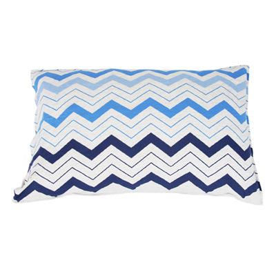 Yvonne Collection波浪鯨魚枕套-藍