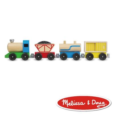 美國瑪莉莎 Melissa & Doug 交通 - 貨運火車組