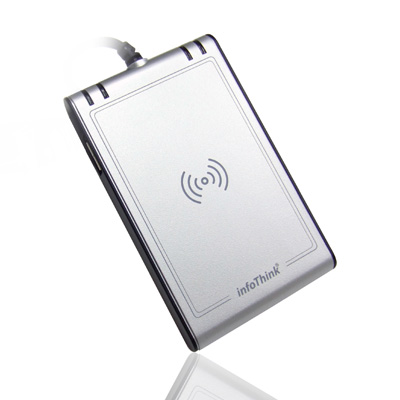 InfoThink-晶片卡-感應卡NFC雙介面讀卡機