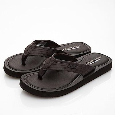 SKECHERS (男) 時尚休閒系列 TOCKER 拖鞋- 51825BRN