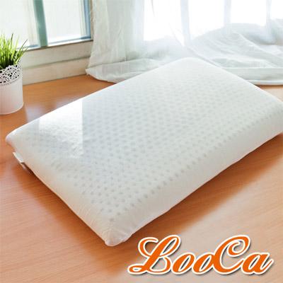 LooCa 加強護頸基本型乳膠枕 1入