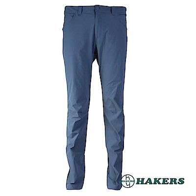【HAKERS 】男-休閒長褲-深灰
