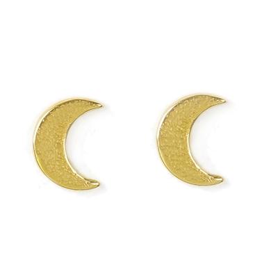 Dogeared 月亮 Moon Glow 金色耳環 附原廠盒