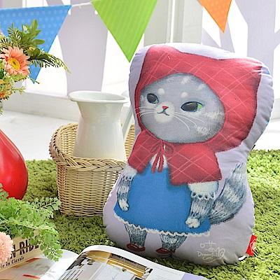 義大利Fancy Belle X DreamfulCat MUMU小紅帽 數位造型抱枕