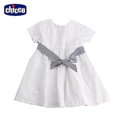 chicco英倫風情-蝴蝶節短袖洋裝