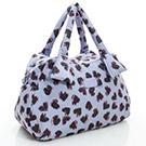 VOVAROVA空氣包-輕旅行兩用包-彩繪甜心(紫)-法國設計系列