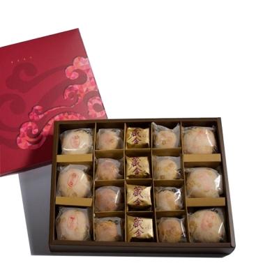 漢坊糕餅 金饌-綜合禮盒x2盒(18入/盒)+臻饌-鳳梨酥禮盒x1盒(12入/盒)