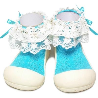 韓國Attipas 快樂學步鞋AW03-淑女藍