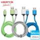 【LIBERTY利百代】Micro USB 2.4A超強韌鋁合金編織傳輸線1.5米 product thumbnail 1