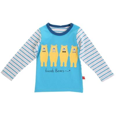 熊熊好朋友長袖T恤 k60186