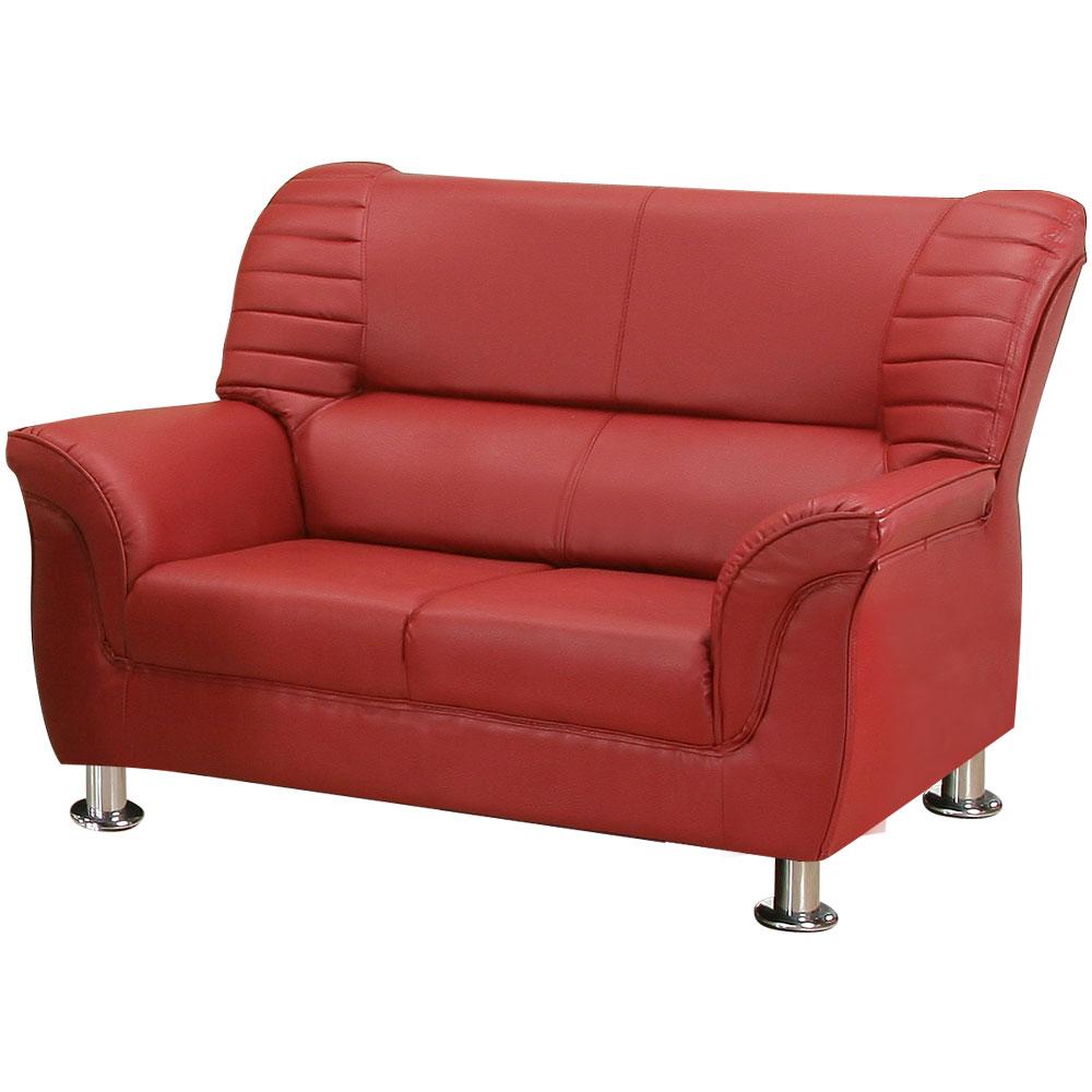 【COUCH】夏卡爾雙人座皮沙發(四色可選)