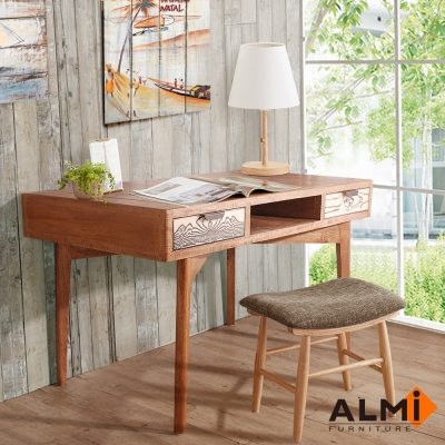 ALMI-DESK 2 DRAWERS 雙抽書桌W130*D70*H75CM