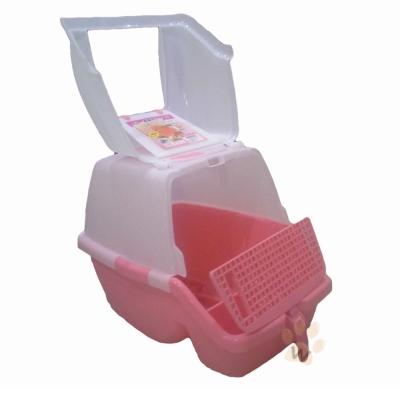 阿曼特 AMT630抗菌方便清掃貓砂盆 1 入