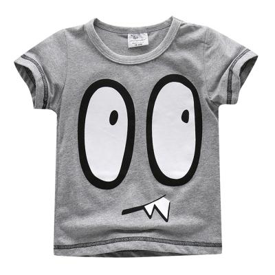 上衣 男童 大怪獸 歐美經典兒童純棉短袖T恤