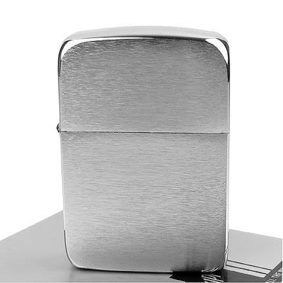 【ZIPPO】美系~1941 復刻版打火機~(銀色)拉絲打磨電鍍鉻款