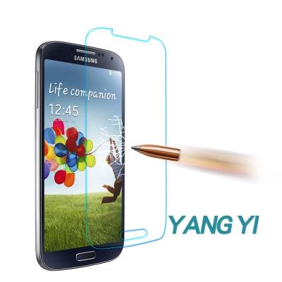YANGYI揚邑 Samsung S4 防爆防刮防眩弧邊 9H鋼化玻璃保護膜
