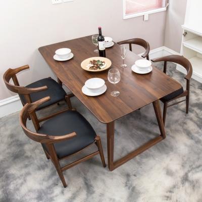 杰諾家居-彌諾斯胡桃木餐桌-160x90x75cm