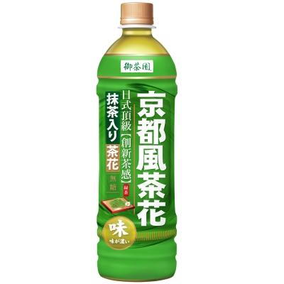 御茶園-京都風茶花綠茶-580mlx24入
