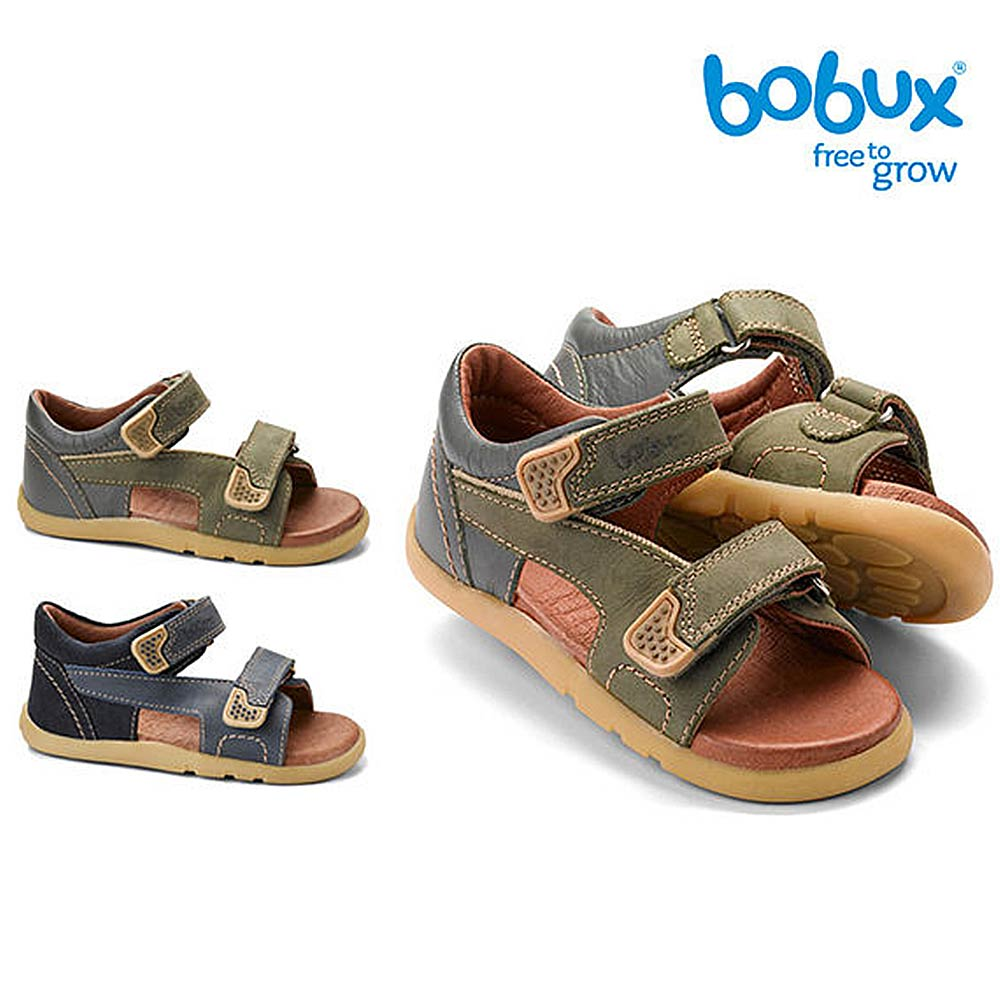 Bobux 紐西蘭 i walk 童鞋學步鞋 經典雙黏式涼鞋