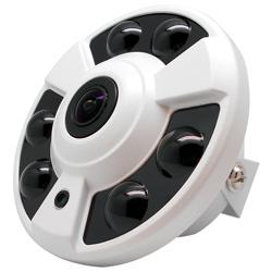 CHICHIAU-四合一 1080P SONY 200萬360度環景6陣列燈監視器攝影機