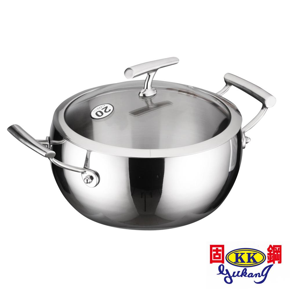 固鋼 316食品級不鏽鋼南瓜湯鍋20cm