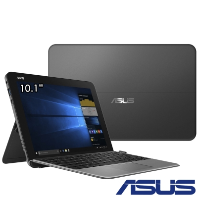 ASUS T103 10吋四核平板筆電(x5-Z8350/128G/4G/0.84kg/灰)