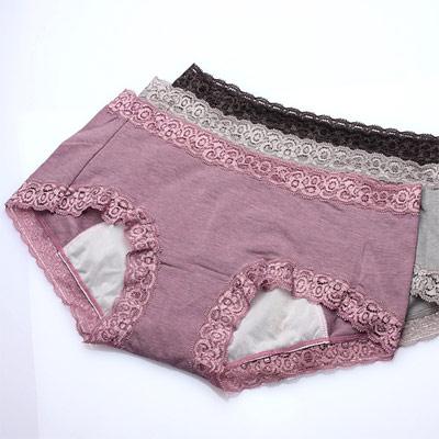 生理內褲 輕鬆生活日用生理褲(三件入) 褲褲嫂專業內褲
