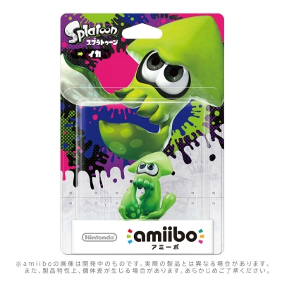 Amiibo 烏賊公仔(漆彈大作戰)