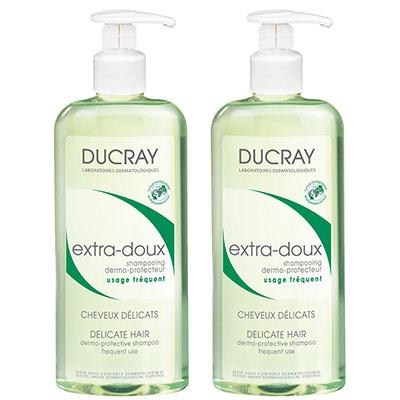 DUCRAY護蕾 溫和保濕洗髮精基礎型400ml二入特惠組