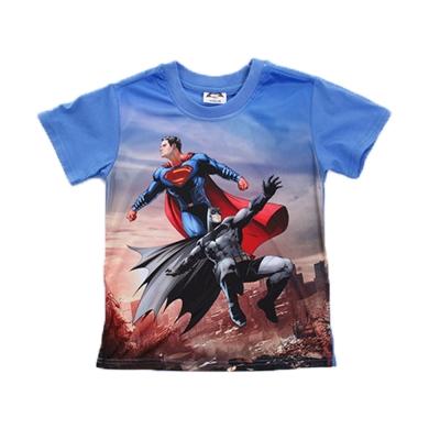 魔法Baby 蝙蝠俠對超人正義曙光短袖T恤 k50098
