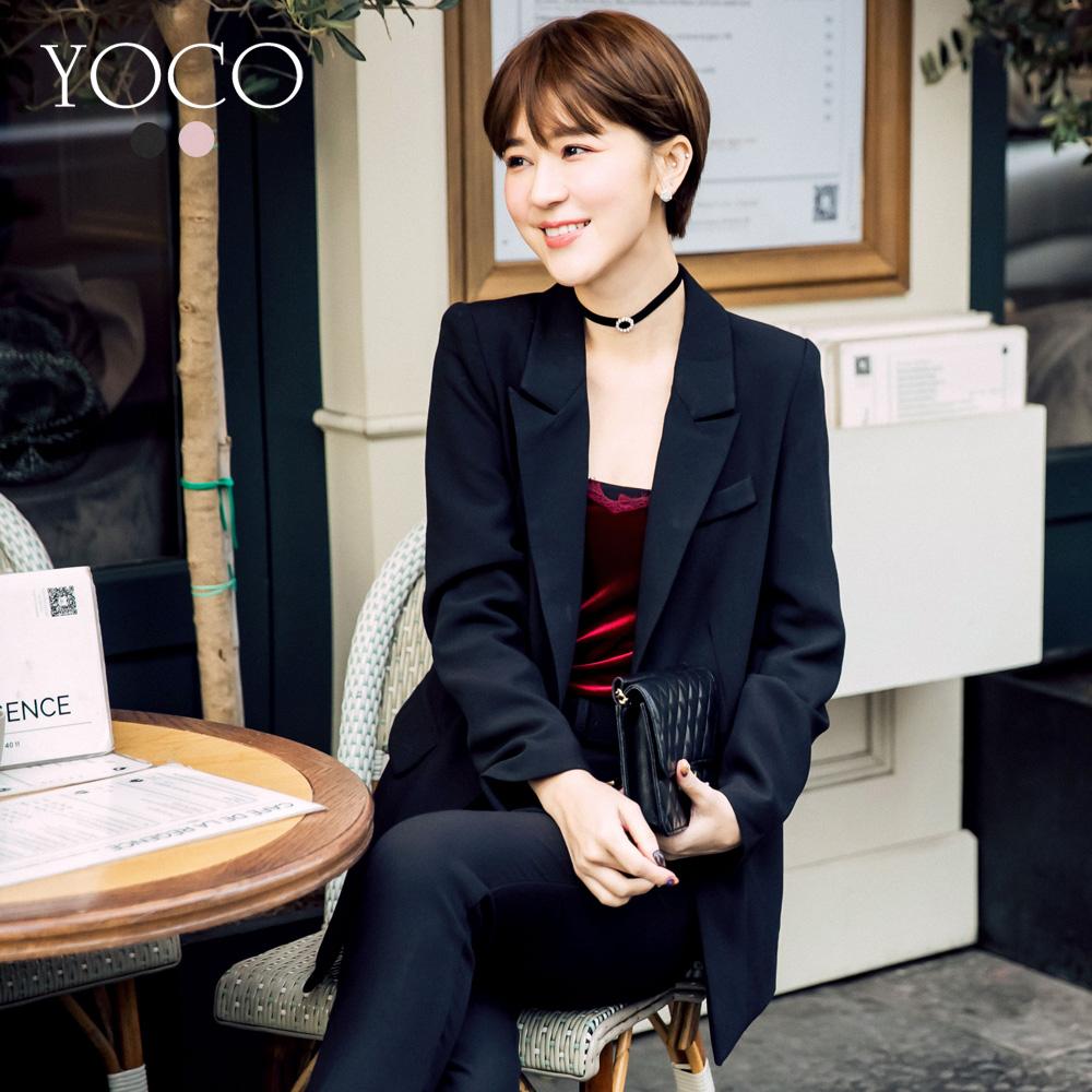 東京著衣-yoco安琪聯名法國女人優雅質感西裝外套XS.S.M.L(共二色)