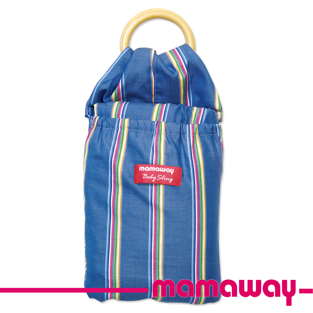 【Mamaway】泡泡糖牛仔育兒揹巾
