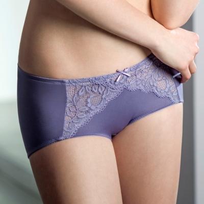 黛安芬-危險V曲線M-EL平口褲-薰衣紫