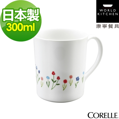 CORELLE康寧-春漾花朵300ml馬克杯