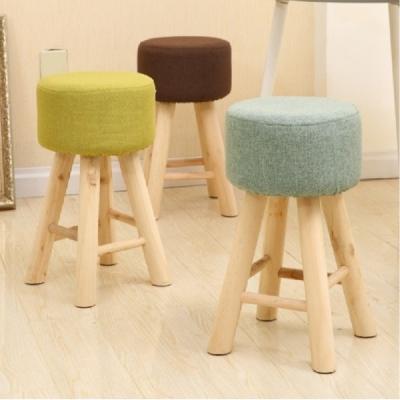 YKS-京采高腳造型小凳椅-四色可選