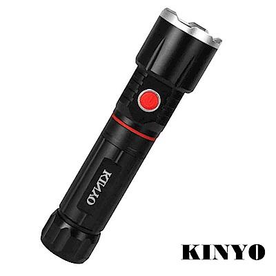 KINYO 電池式三合一多功能LED手電筒 (LED-509)