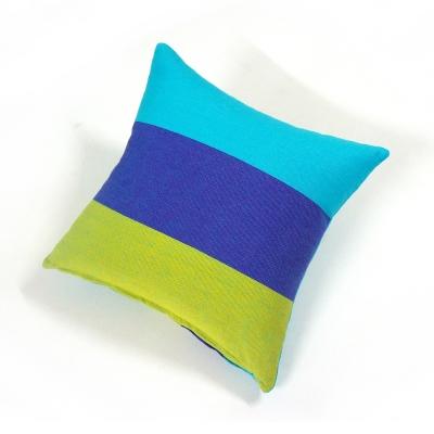 布安於室-色塊抱枕1入(含枕心)-藍色
