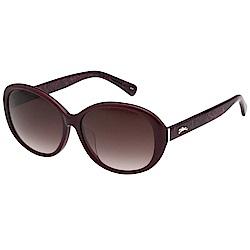 LONGCHAMP 太陽眼鏡 (酒紅色) LO609SA