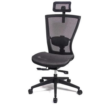 aaronation 愛倫國度 - 頂級高韌性高背頭枕全網電腦椅