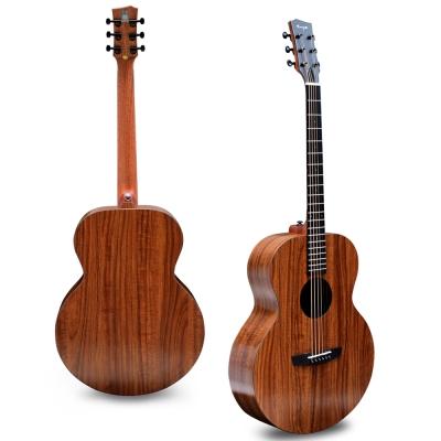 ENYA 四葉草代言 41吋AJ桶身 相思木 民謠吉他(EA-X1)(贈原廠琴袋與配件)