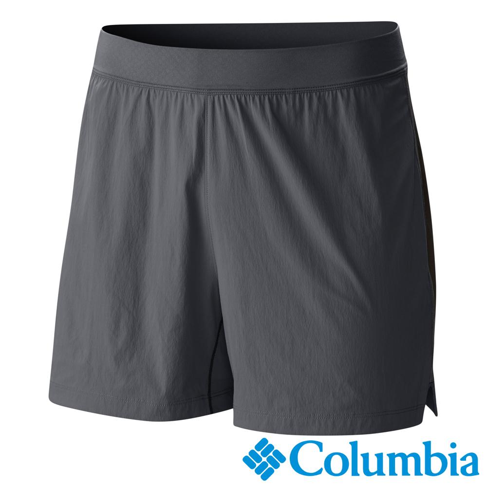 Columbia 哥倫比亞 男款-野跑涼感快排短褲-深灰 (UAE13090DY)