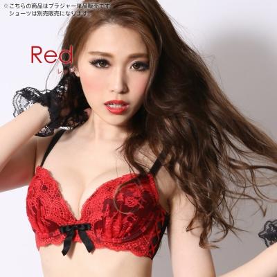 aimerfeel 高脅邊機能調整型內衣-紅色
