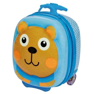 瑞士OOPS 小熊快樂拉桿包包