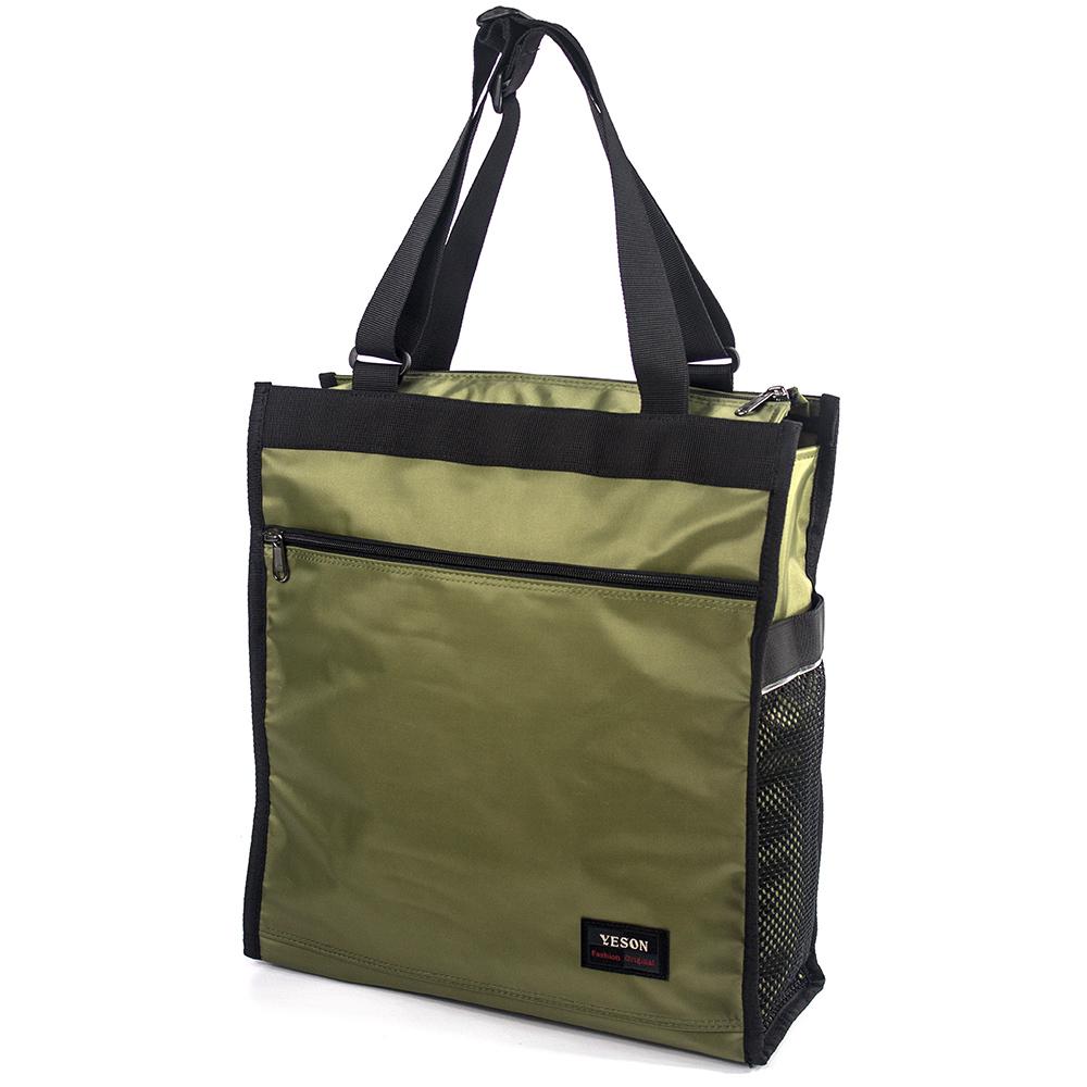YESON - 大容量 休閒購物手提袋二色可選 MG-1136