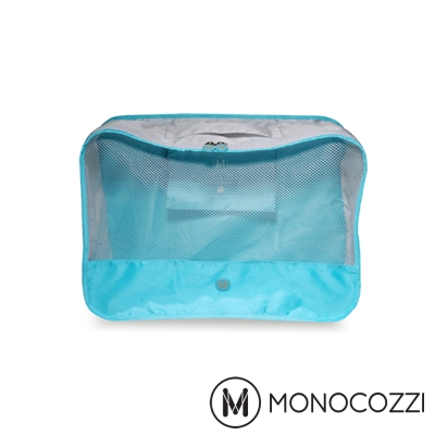 MONOCOZZI Lush 旅行衣物收納包 Apparel Pack (L)-嬰兒藍