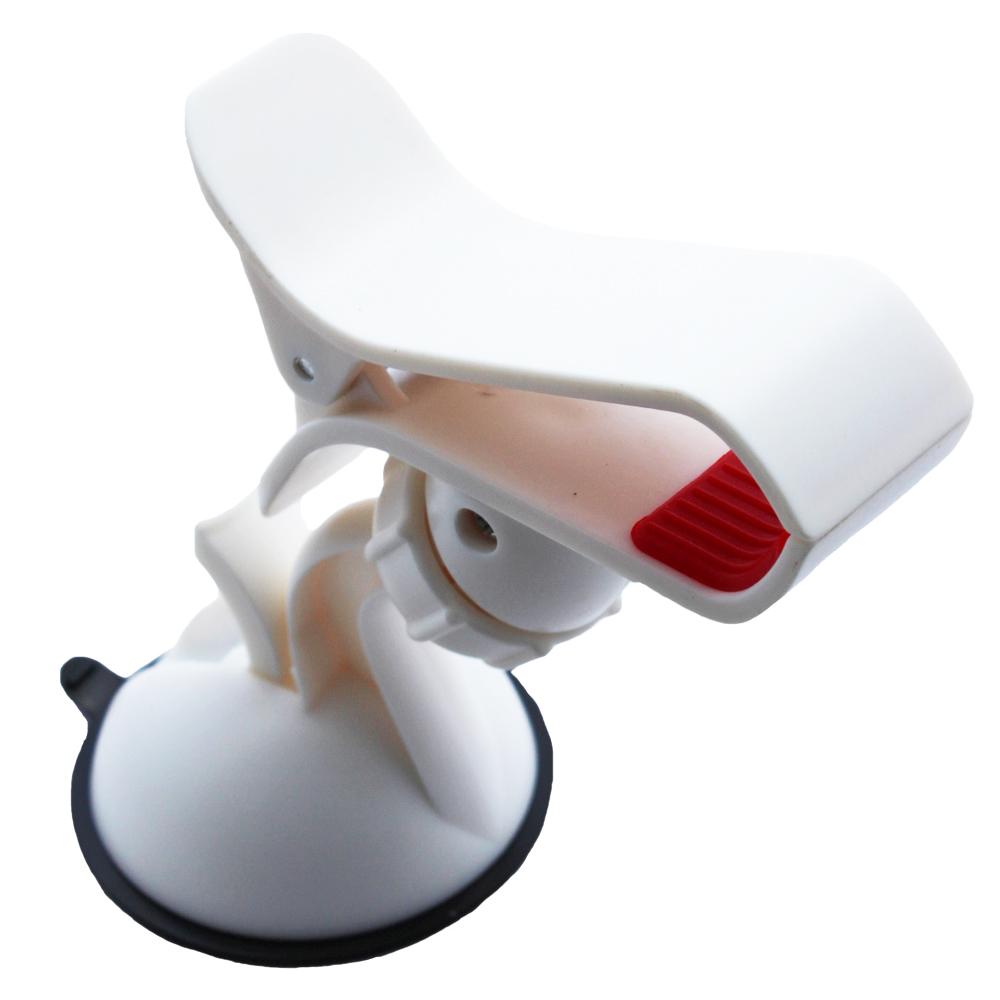 手機夾型車架(白色)