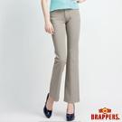 BRAPPERS 女款 女用彈性中低腰喇叭褲-灰