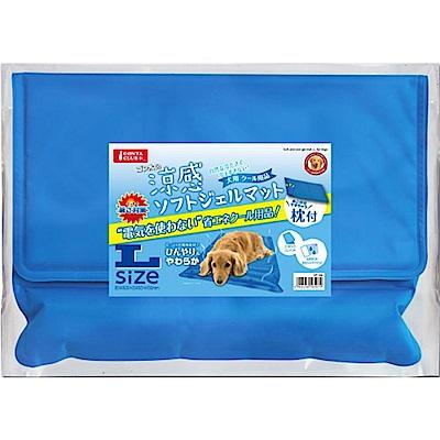 Marukan 涼感帶枕頭的軟膠墊 L號 DP-320