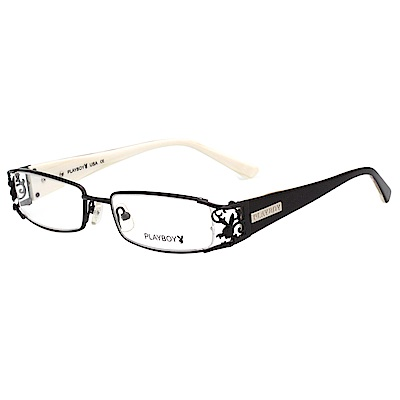PLAYBOY  時尚光學眼鏡 (黑色)